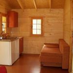 Aneks kuchenny - domek w Rowach - świerkowy 4-5 osobowy