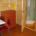 Wnętrze - domek Rowy - 4-5 osobowy świerkowy
