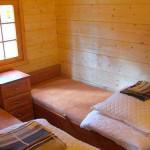 Pokój sypialny - domek w Rowach - Saturn
