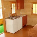 Kuchnia - Domek Rowy - Świerkowy 4-5 osobowy